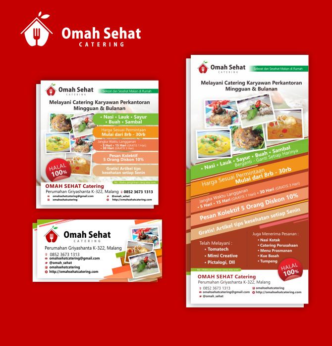 Mimi Creative – Omah Sehat Catering Brochures